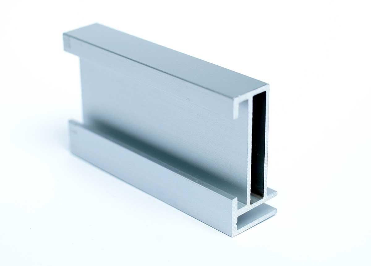 Spannrahmen Steckkederprofil für Wandbefestigung Aluminium 18x40mm ...