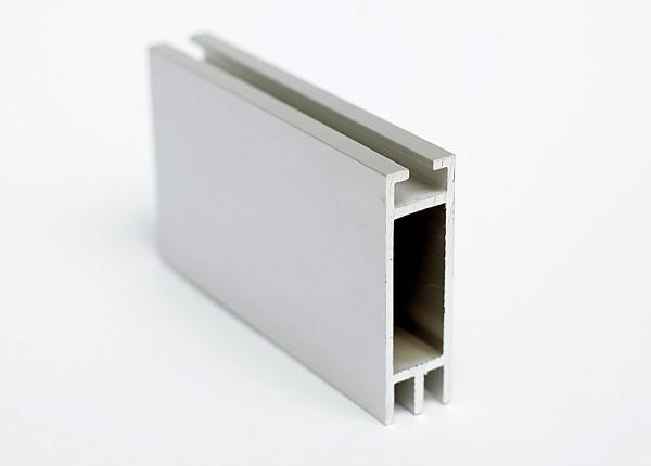 Flachkederprofil Alu doppelt 12x41mm