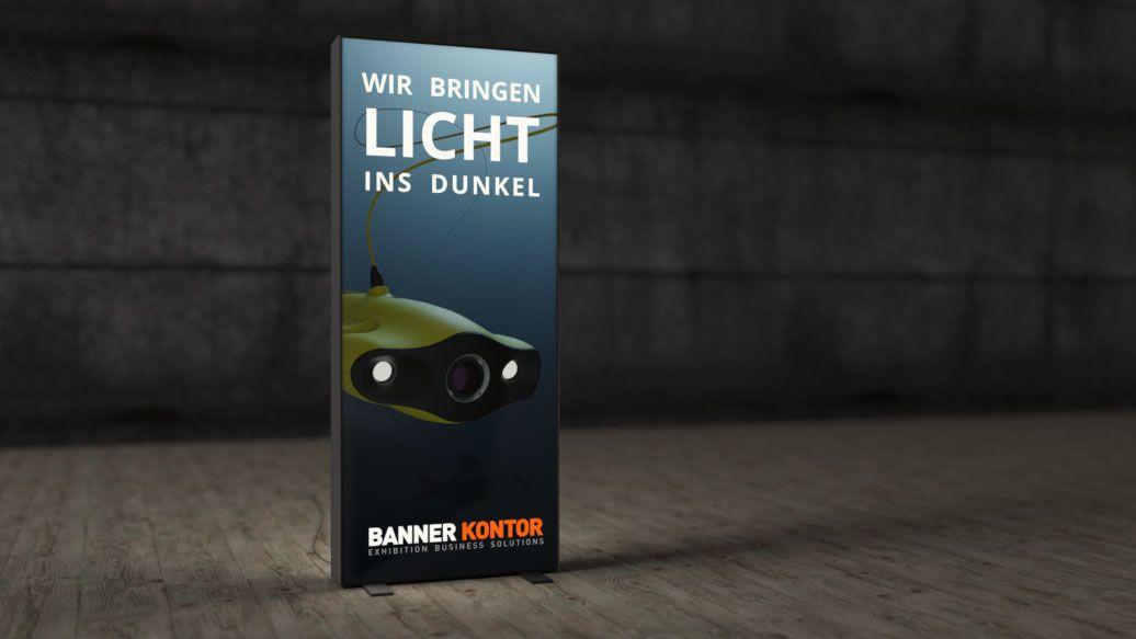 LED Display Spannrahmen-Werkzeugloser Aufbau
