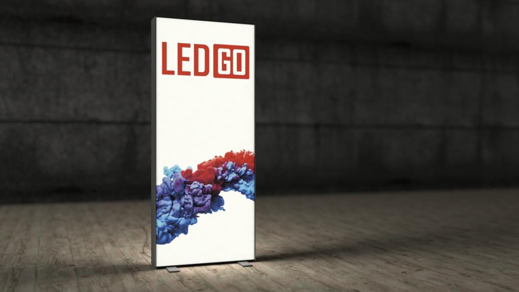 LED Textilspannrahmen