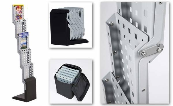 Prospektständer faltbar 5-fach DIN A4
